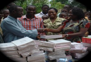 donation of supplies at stakeholders forum2
